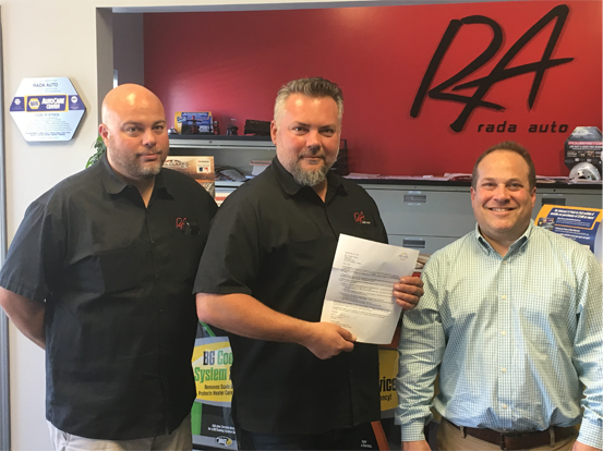 Rada Auto Selected as First Participant in Next Level Northwest Accelerator Program